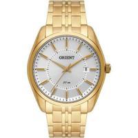 Relógio Orient Social Analógico Mgss1183S1Kx Masculino - Masculino-Dourado
