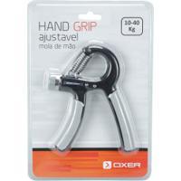 Mola Hand Grip Ajustável Oxer - 10-40 Kg - Preto