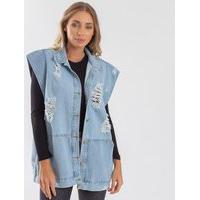 Colete Feminino Gam 4810000 Gam Jeans