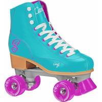 Patins Quad Elite Roller Derby Candi Girl Sabina Mint (Hortelã) - Feminino