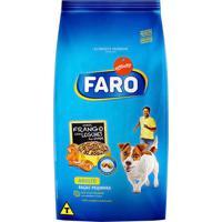 Ração Para Cães Faro Raças Pequenas Sabor Frango Com Legumes Ao Vapor 2Kg
