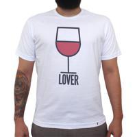 Vinho Lover - Camiseta Clássica Masculina