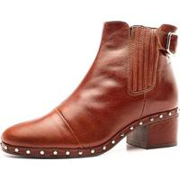 Bota The Box Project Julep Feminina - Feminino-Marrom