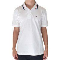 Camiseta Masculina Tommy Jeans Branca Gola Polo