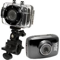 """Câmera Filmadora Esportiva Vivitar Dvr785Hd Preta – 5.0Mp, Lcd 2"""", Com Caixa Estanque À Prova D'Água E Grava Vídeo Em Hd"""