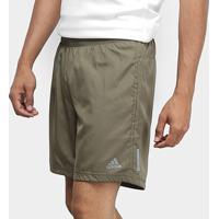 Short Adidas Run Masculino - Masculino-Musgo