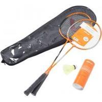 Kit Badminton Vollo 2 Raquetes C/ 3 Petecas - Vollo
