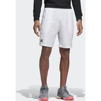 Shorts E Bermudas Esporte Tênis Adidas Club 9-Inch Branco