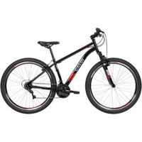 Bicicleta Mtb Two Niner Aro 29 Parede Dupla - Susp Dianteira - Quadro Aço - 21 Velocidades - Unissex