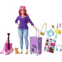 Boneca Barbie Explorar E Descobrir Daisy Roxo