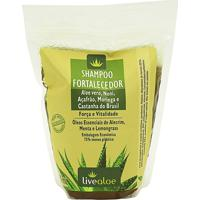 Shampoo Fortalecedor Aloe Vera Livealoe 500Ml - Refil