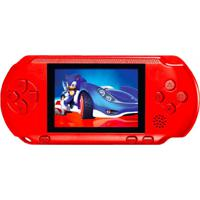 Video Game Portátil Pocket + Cartucho - Vermelho