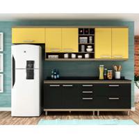 Cozinha Compacta New Vitoria 7 Pt 5 Gv Onix Com Maracujá