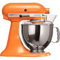Girafa; Batedeira Kitchenaid Stand Mixer Artisan 127V Tangerine 4,83L E 275W