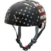 Capacete De Proteção Bicicleta Patins Skate Usa - Kraft