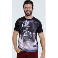 Camiseta Masculina Estampa Star Wars Disney