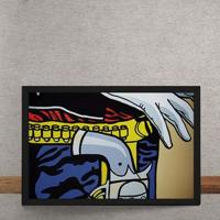 Quadro Decorativo Cowboy Pop Art 25X35