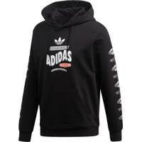 Blusão Adidas Bodega Originals Preto