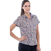 436262f43d Posthaus  Camisete Love Poetry Floral Azul