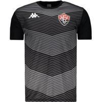 Camisa Kappa Vitória Treino Goleiro 2019 Masculina - Masculino