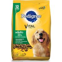 Ração Para Cães Adultos Pedigree Carne E Vegetais 1Kg