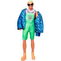 Barbie Bmr1959 Ken Com Cabelo Verde - Mattel - Kanui