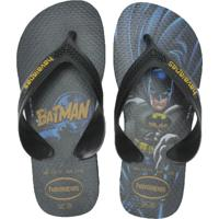 Chinelo Infantil Havaianas Batman
