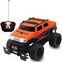 Carrinho De Controle Remoto Trucks Radicais - Laranja - Unik Toys