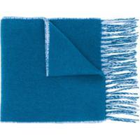 Vivienne Westwood Cachecol Com Estampa De Logo - Azul