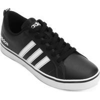 Tênis Adidas Pace Vs Masculino - Masculino-Preto+Branco