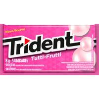 Goma De Mascar Trident Tutti-Frutti 8G