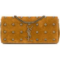 Saint Laurent Kate Shoulder Bag - Marrom