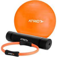 Kit Para Pilates Com 3 Peças Atrio Es126 - Unissex