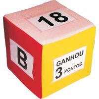 Cubo Variã¡Vel - Vermelho & Branco- 20X20X20Cm - Cia Brink