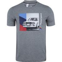 Camiseta Puma Bmw 596102 - Masculina - Mescla