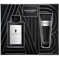 Kit Perfume Masculino The Secret Antonio Banderas Eau De Toilette 100Ml + Pós Barba 75Ml - Masculino