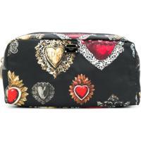 Dolce & Gabbana Nécessaire 'Sacred Heart' - Preto