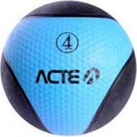 Bola De Peso Acte Sports T104 Medicine Ball 4Kg Azul