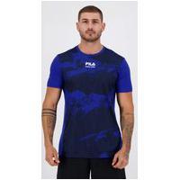Camiseta Fila New Graphic Active Azul