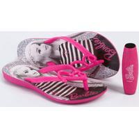 Chinelo Infantil Barbie Brinde Grendene Kids 21815