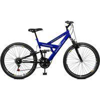 Bicicleta Master Bike Aro 26 Masculina Kanguru Style 21 Marchas A-36 Azul