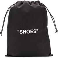 "Off-White Bolsa ""Shoes"" - Preto"