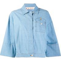 Marni Camisa Jeans Clássica - Azul
