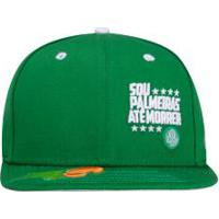 Boné Aba Reta Do Palmeiras New Era 950 Of - Snapback - Adulto - Verde