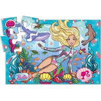 Barbie Quebra-Cabeca 24 Pcs Cartonado