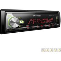 Auto Rádio Mp3 Player - Pioneer - Com Usb/Wma/Bluetooth/Mixtrax-Cr - Cada (Unidade) - Mvh-X588Bt