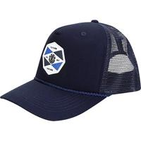 Boné Element Snap Emblem Ii Truck Aba Curva - Masculino-Azul Escuro