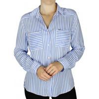 Camisa Feminina Pitt Listrada
