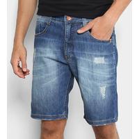 Bermuda Jeans Slim Ecko Masculina - Masculino