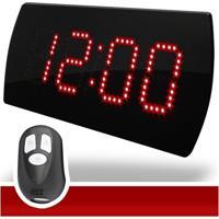 Timer Cronômetro Led Academia, Box Com Controle - Unissex